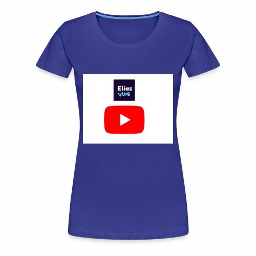 Elias Vlog Youtube - Premium T-skjorte for kvinner