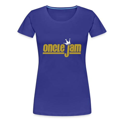 Oncle Jam horizontal or - T-shirt Premium Femme