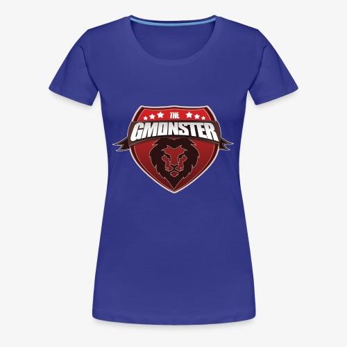 TheGMonster Logo Grand - T-shirt Premium Femme