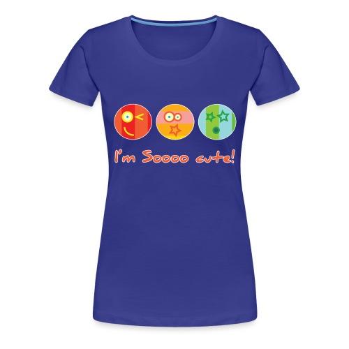 Sooo Cute - Vrouwen Premium T-shirt