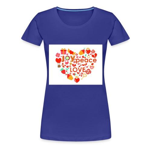 Love Peace Joy - Women's Premium T-Shirt