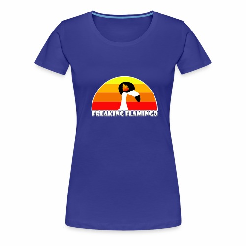 FF Flaming Flamingo - Frauen Premium T-Shirt