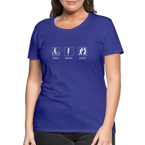 Vatertag #02 - Frauen Premium T-Shirt