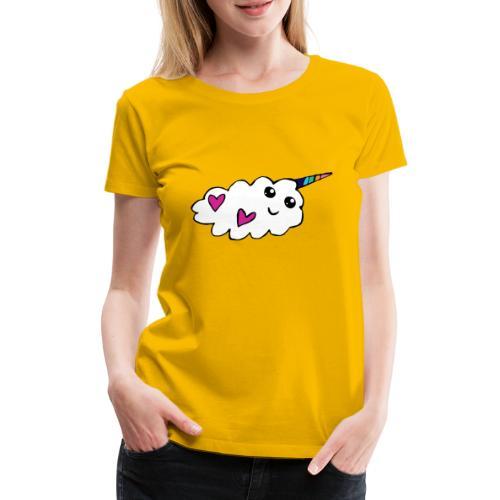 Nuage licorne Kawaii - T-shirt Premium Femme