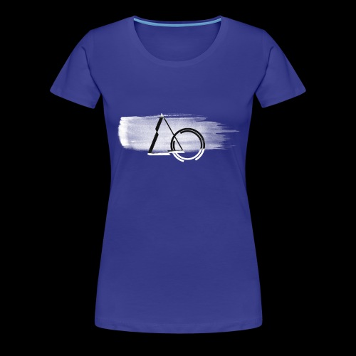Large shape Paint - Women's Premium T-Shirt