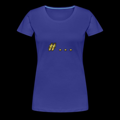 HashTag - Maglietta Premium da donna