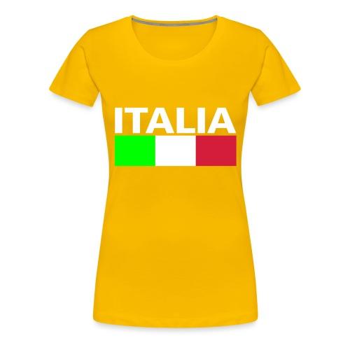 Italia Italy flag - Women's Premium T-Shirt