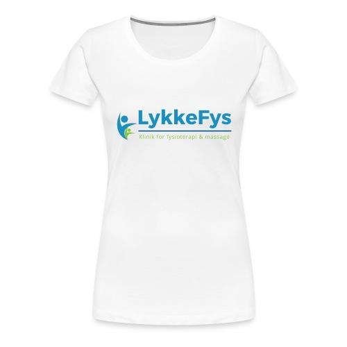 Lykkefys Esbjerg - Dame premium T-shirt
