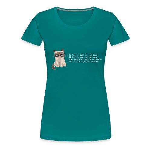 99bugs - white - Vrouwen Premium T-shirt