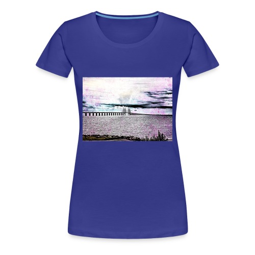 Öresundsbron - Premium-T-shirt dam