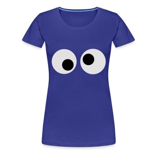 Koekiemonster - Vrouwen Premium T-shirt