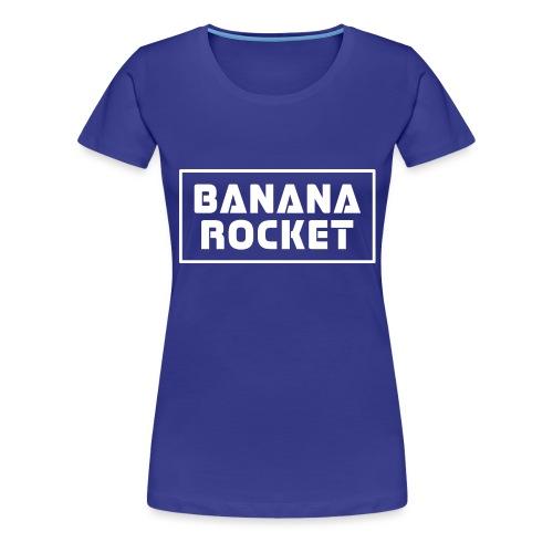Banana Rocket Classic Woman - Maglietta Premium da donna
