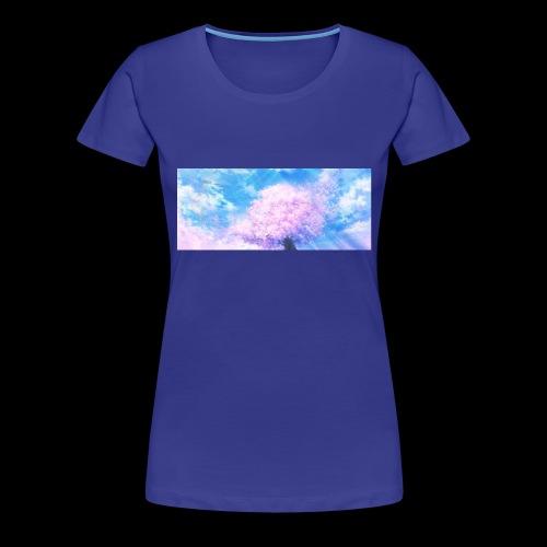 Kirschblüte - Frauen Premium T-Shirt