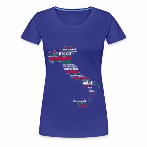 Italia - T-shirt Premium Femme