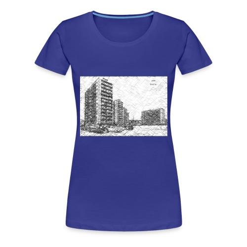 Vieux droixhe - T-shirt Premium Femme