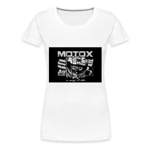 Motox a way of life - Vrouwen Premium T-shirt