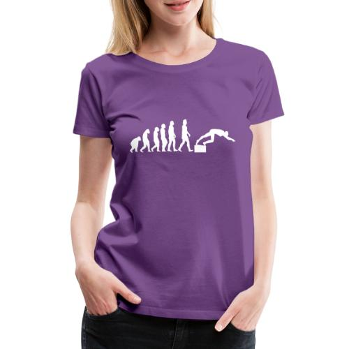 SWIMMER'S EVOLUTION - Maglietta Premium da donna