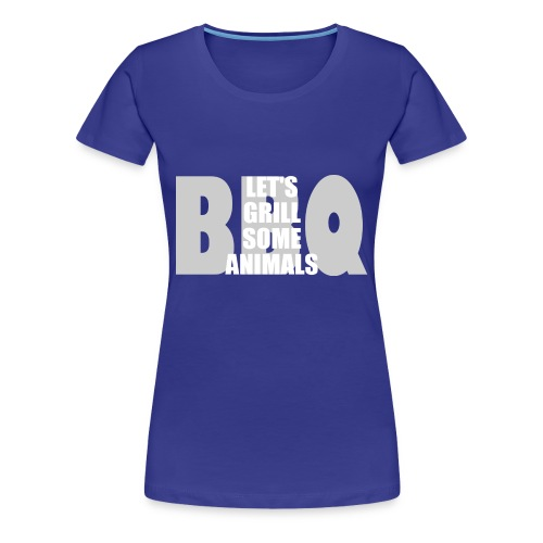 BBQ - Frauen Premium T-Shirt