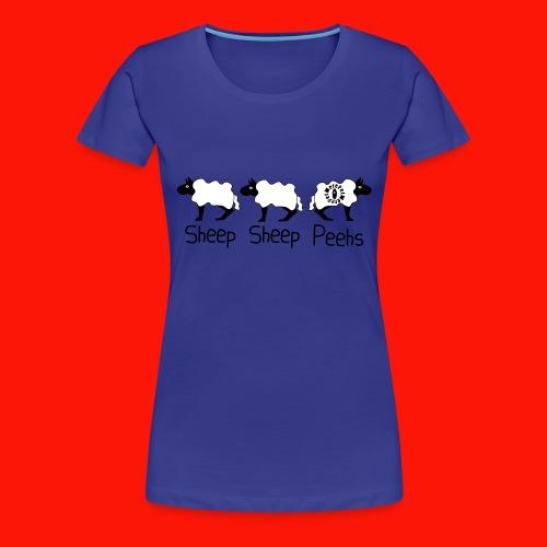 Sheep - Sheep - Peehs - Women's Premium T-Shirt