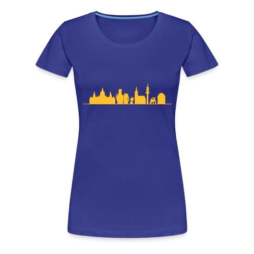 Skyline Hannover - Frauen Premium T-Shirt