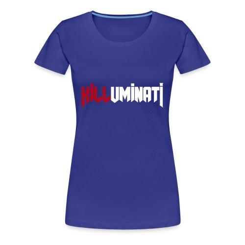 KILLUMINATI influence logo - Maglietta Premium da donna