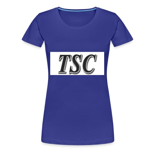 TSC Black Text - Women's Premium T-Shirt