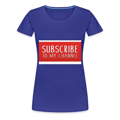sub to galactic madman - Women's Premium T-Shirt