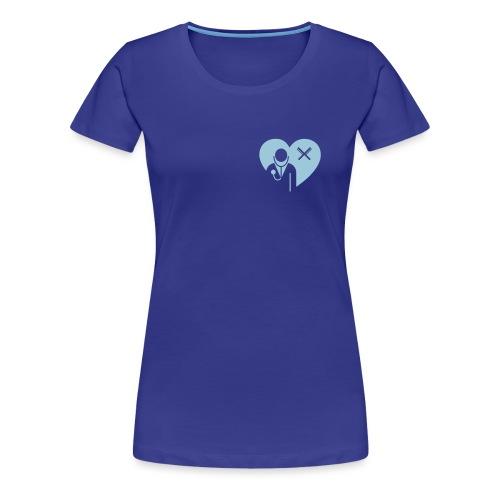Stilblueten_gruen - Frauen Premium T-Shirt