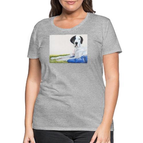 Grand danios harlequin - Dame premium T-shirt