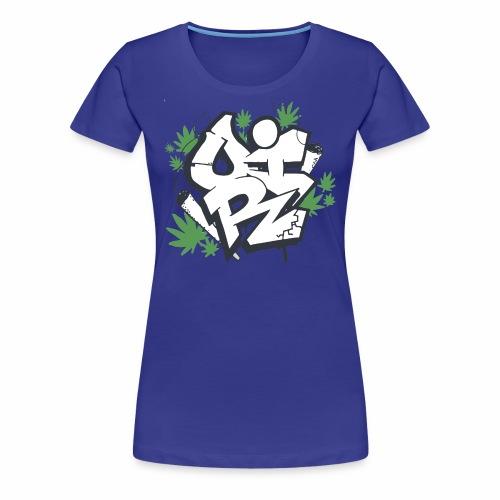 OIR-graffiti - Dame premium T-shirt