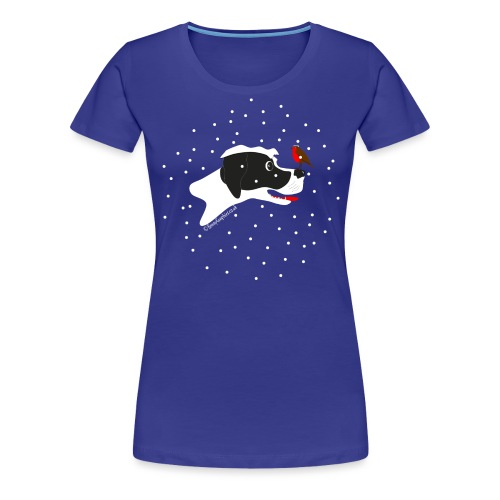 English pointer robin - Women's Premium T-Shirt