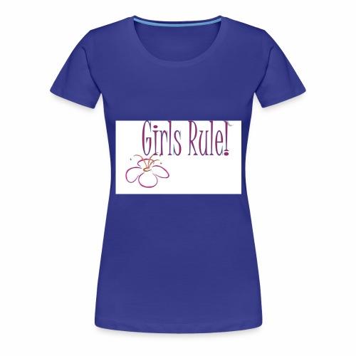 Girls rule - Women's Premium T-Shirt