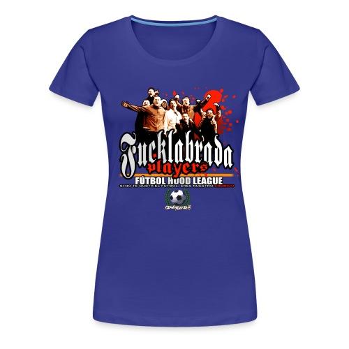 camiseta fucklabrada players copia - Camiseta premium mujer