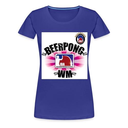 ibatrikotfrontpink - Frauen Premium T-Shirt