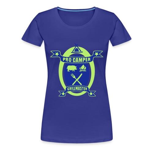 ProCamper & Grillmaster 04 - Frauen Premium T-Shirt