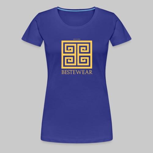 #Bestewear - Golden Snake - Frauen Premium T-Shirt