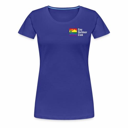 GOC Logo White Text - Women's Premium T-Shirt