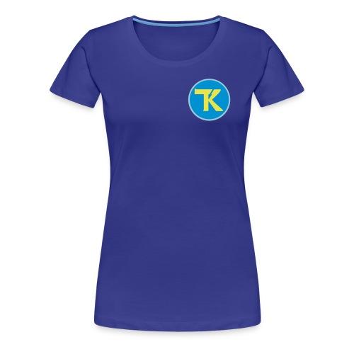 tk ohne text - Frauen Premium T-Shirt