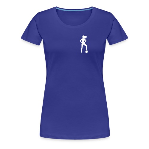 Football Babe - Play footy - Women's Premium T-Shirt