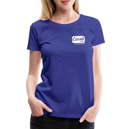 Logo blanc - T-shirt Premium Femme