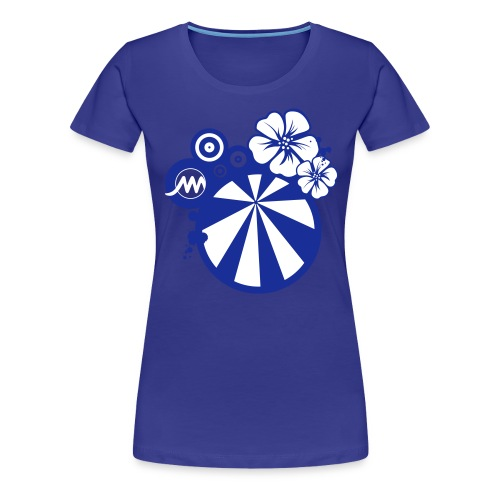TEE SHIRTMARMARAFLEUR2 - T-shirt Premium Femme