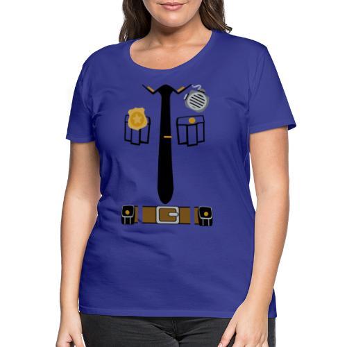 Police Patrol Costume - Women's Premium T-Shirt