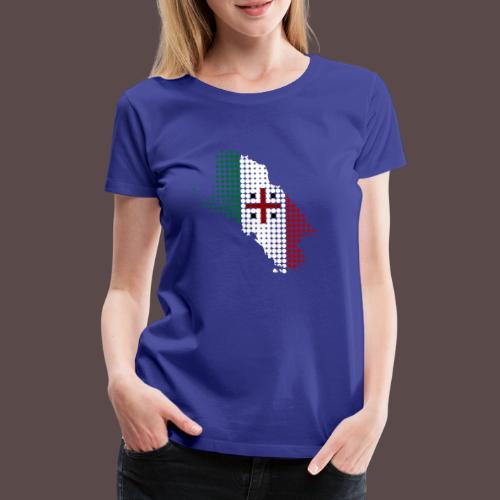 Sardegna Sfere - Maglietta Premium da donna