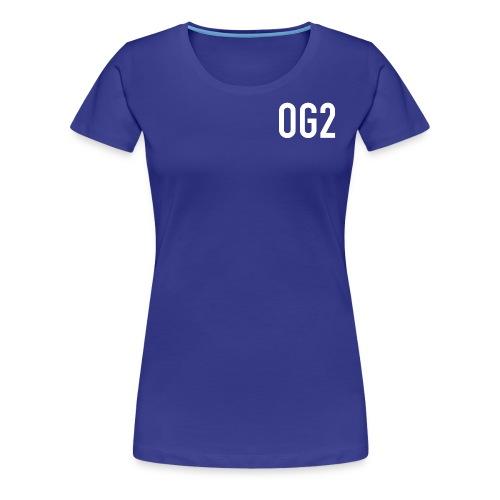 17094 2COG2 LOGO - Women's Premium T-Shirt