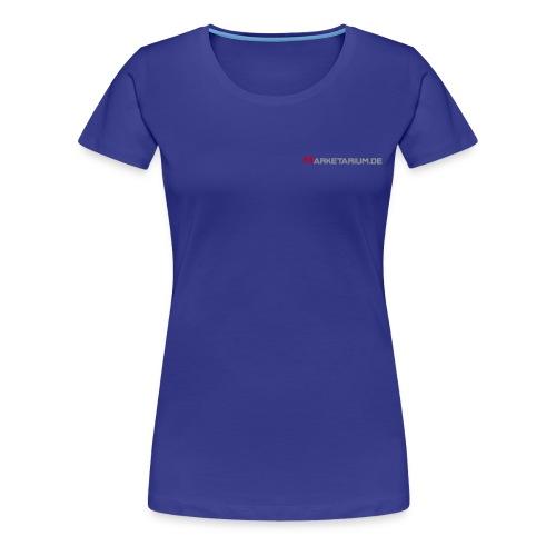 marketarium logo1 vect - Frauen Premium T-Shirt
