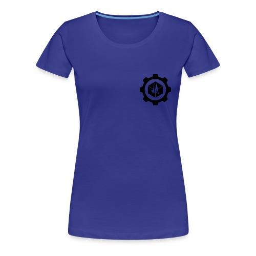 Jebus Adventures Logo (Transparent) - Women's Premium T-Shirt