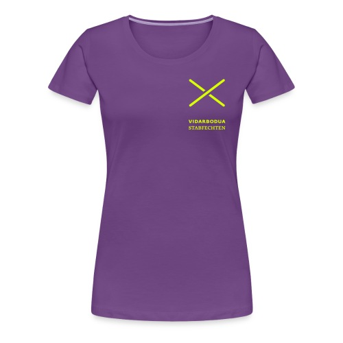 Trainer für Vidarbodua Stabfechten - Frauen Premium T-Shirt