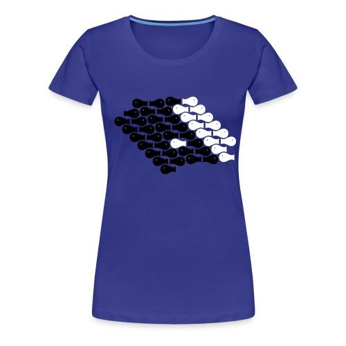 Fishy - Women's Premium T-Shirt