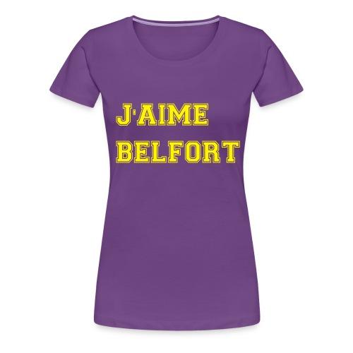 J'aime Belfort - T-shirt Premium Femme