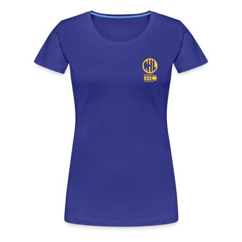 nhl1 gold - Women's Premium T-Shirt